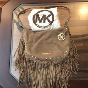 Michael Kors Leather Fringe Bag